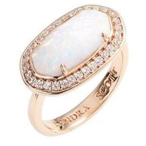 Kendra Scott Emmaline rose gold opal ring